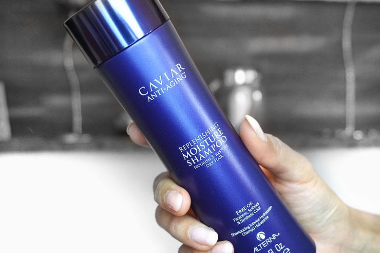 Haare winterfest machen: Caviar Moisture Haircare by Alterna